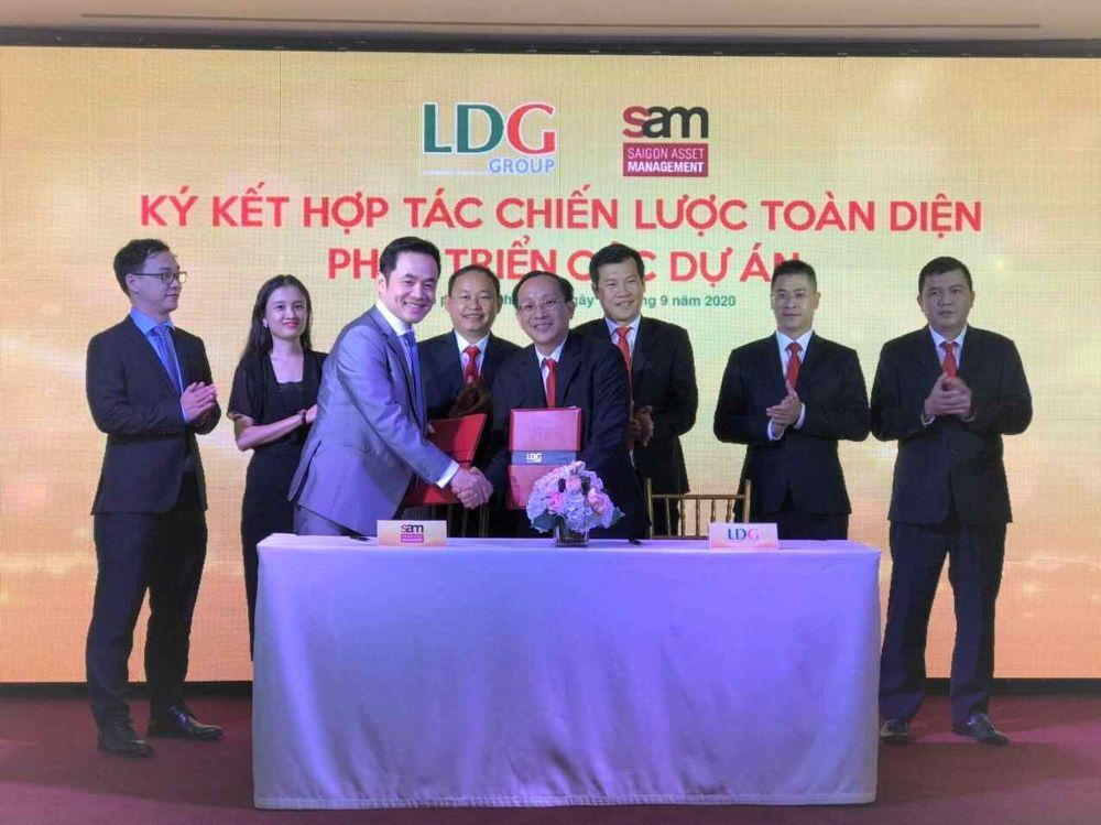 LDG kỳ vọng ký kết hợp tác chiến lược toàn diện với tập đoàn quản lý quỹ đầu tư S-compressed
