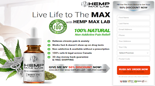 Hemp Max Lab Oil2