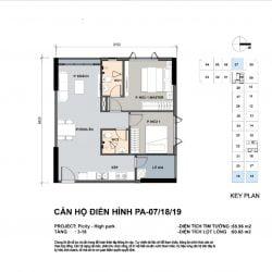 2PN 2WC - 65m2